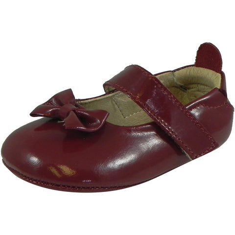 Old Soles Girl's 067 Dream Mary Jane Flat Rouge Patent - Just Shoes for Kids  - 1