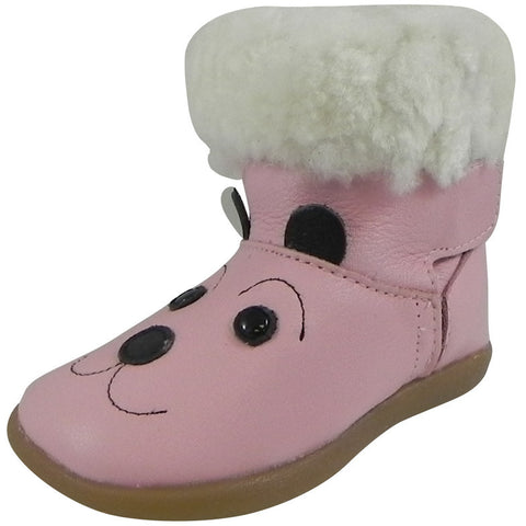 ShooShoos Girl's 102753 Pink Bianca Boot