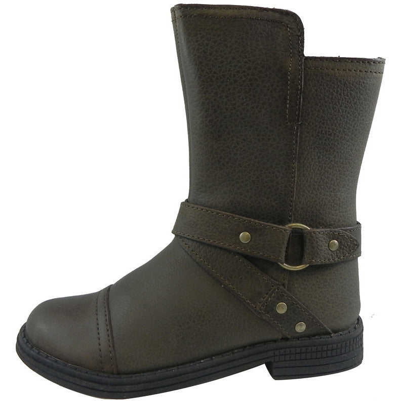 Umi Girls' Olive Chiara Harness Boot - Just Shoes for Kids  - 2