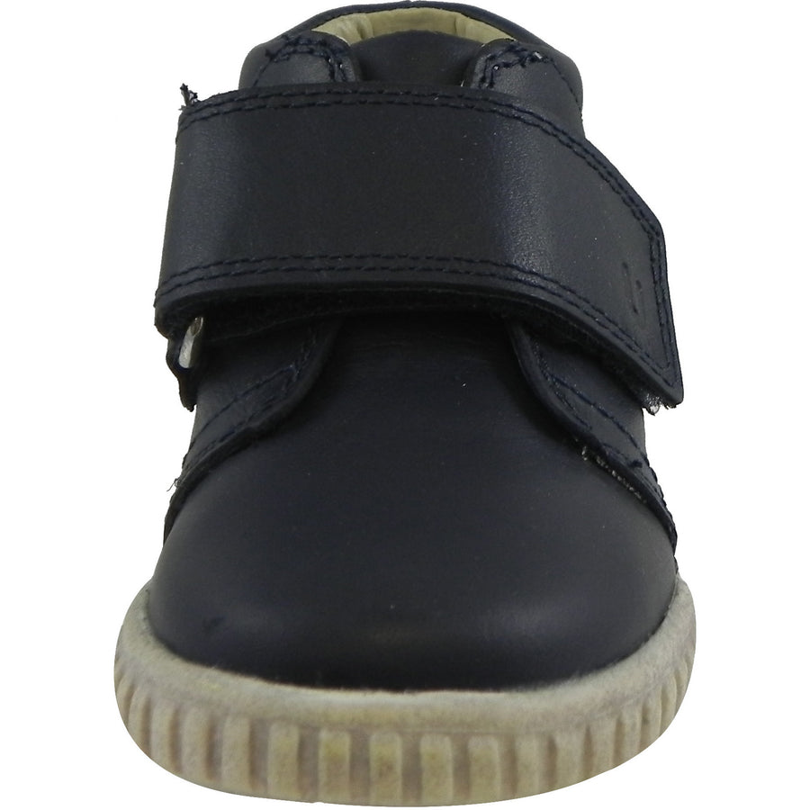 Umi Boy?ÇÖs & Girl?ÇÖs Bodi Leather Oversized Hook and Loop High Top Sneakers Blue - Just Shoes for Kids  - 5