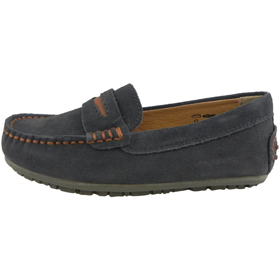 Umi Boys' Dark Gray David Loafer - Just Shoes for Kids  - 2