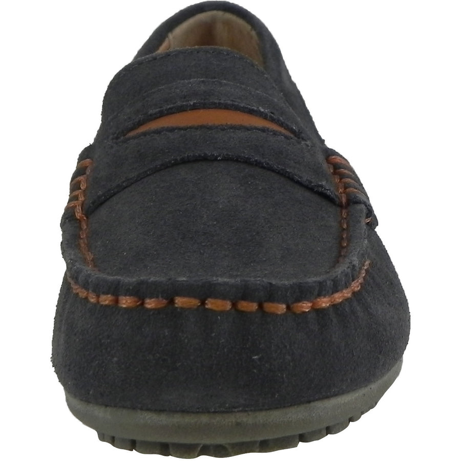 Umi Boys' Dark Gray David Loafer - Just Shoes for Kids  - 3