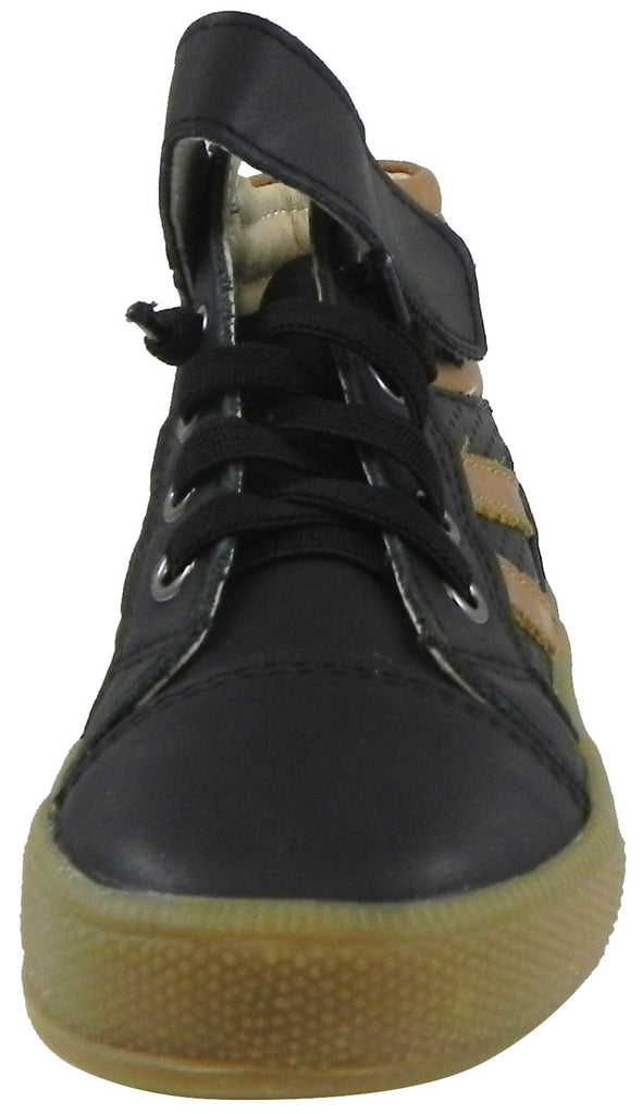 Old Soles Boy's 1049 Outback Shoe Sneaker Black/Tan