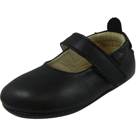 Old Soles Girl's 022 Gabrielle Mary Jane Shoe Black - Just Shoes for Kids  - 1