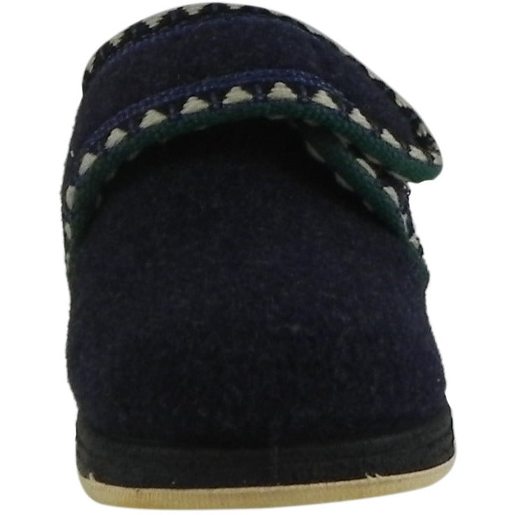 Foamtreads Kid's Rocket Navy Wool Slipper Shoe - Just Shoes for Kids  - 3