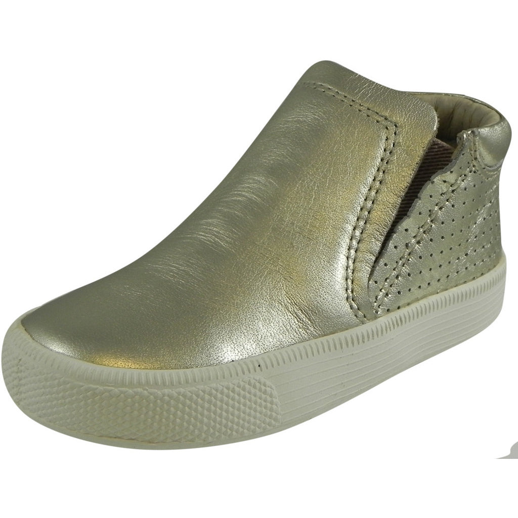 Old Soles Girl's 1046 Gold Urban Crew Sneaker Shoe