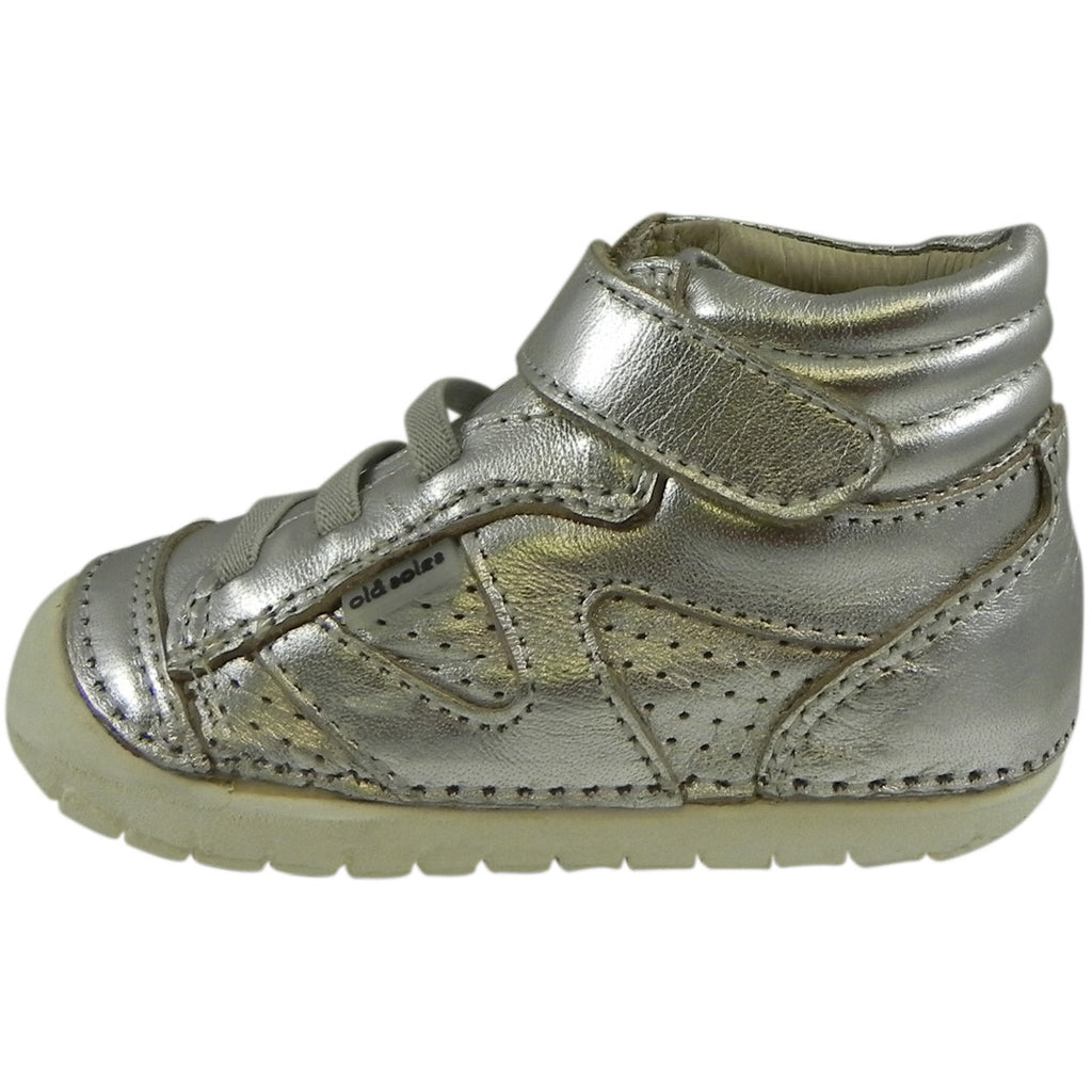 Old Soles Girl's 4003 Silver Pave Leader Shoe - Just Shoes for Kids  - 2