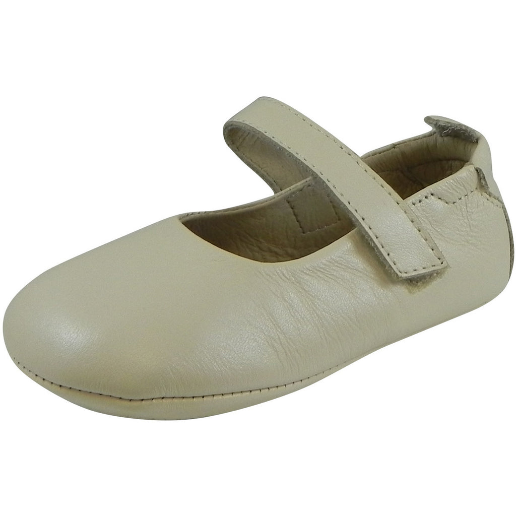 Old Soles Girl's 022 Pearl Metallic Leather Gabrielle Mary Jane - Just Shoes for Kids  - 1