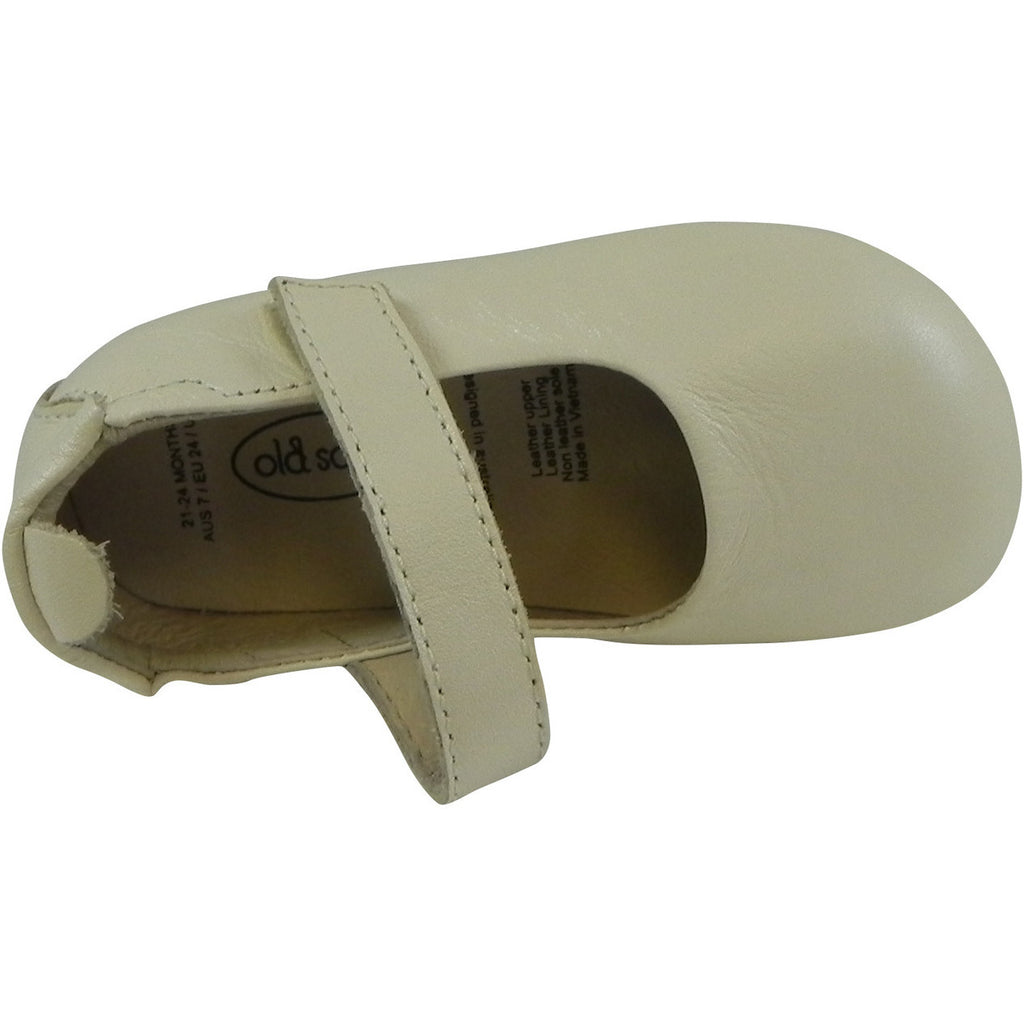 Old Soles Girl's 022 Pearl Metallic Leather Gabrielle Mary Jane - Just Shoes for Kids  - 6