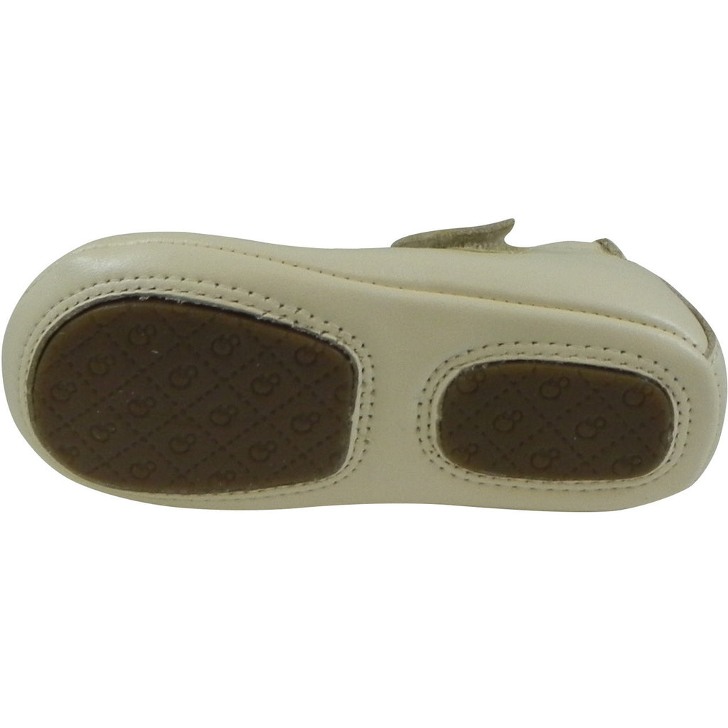 Old Soles Girl's 022 Pearl Metallic Leather Gabrielle Mary Jane - Just Shoes for Kids  - 7