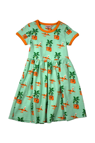 Moromini 8043ASS Short Sleeve Twirly Dress