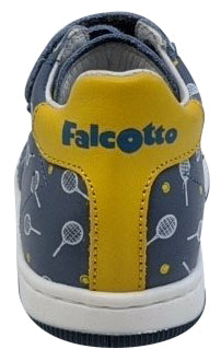 Naturino Falcotto Boy's Adam Vl Vit.St.Tennis Fashion Sneakers, Celeste/Bianco
