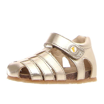Naturino Falcotto Girl's Alby Fisherman Sandals - Metallic Platinum
