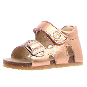 Naturino Falcotto Girl's Bea Open Toe Sandals - Metallic Rose