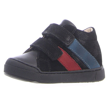 Naturino Falcotto Boy's Gazer Vl Nappa/Velour Spazz. Sneakers - Nero