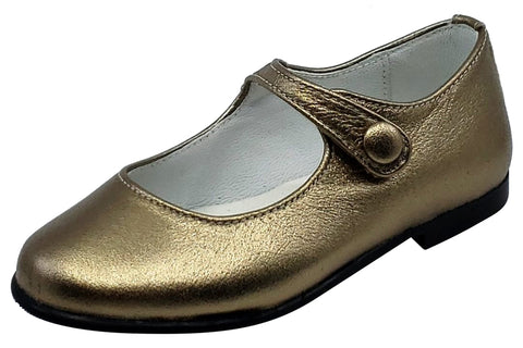 Gepetto's Girl's Mary Jane Leather Galaxy Mercurio Dress Shoe