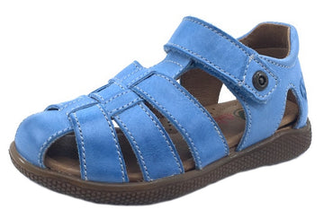 Naturino Boy's Gene Leather Sandals, Jeans