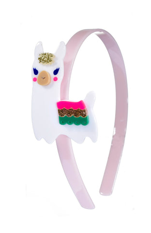Lilies & Roses NY Girl's the Llama Headband