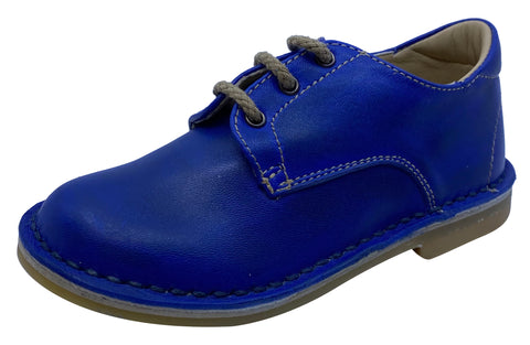 Eureka Boy's and Girl's Bluette Handcrafted Leather Oxford