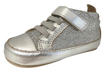 Old Soles Girl's & Boy's Glam Gal Sneakers - Glam Argent/Silver
