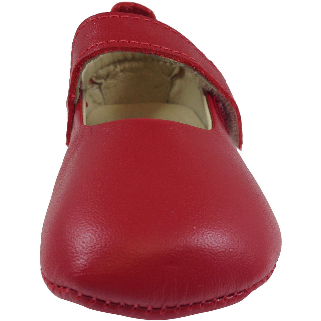 Old Soles Girl's 022 Red Leather Gabrielle Mary Jane - Just Shoes for Kids  - 3