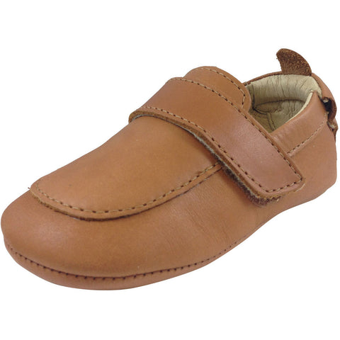Old Soles Boy's 043 Global Tan Leather Loafer - Just Shoes for Kids  - 1