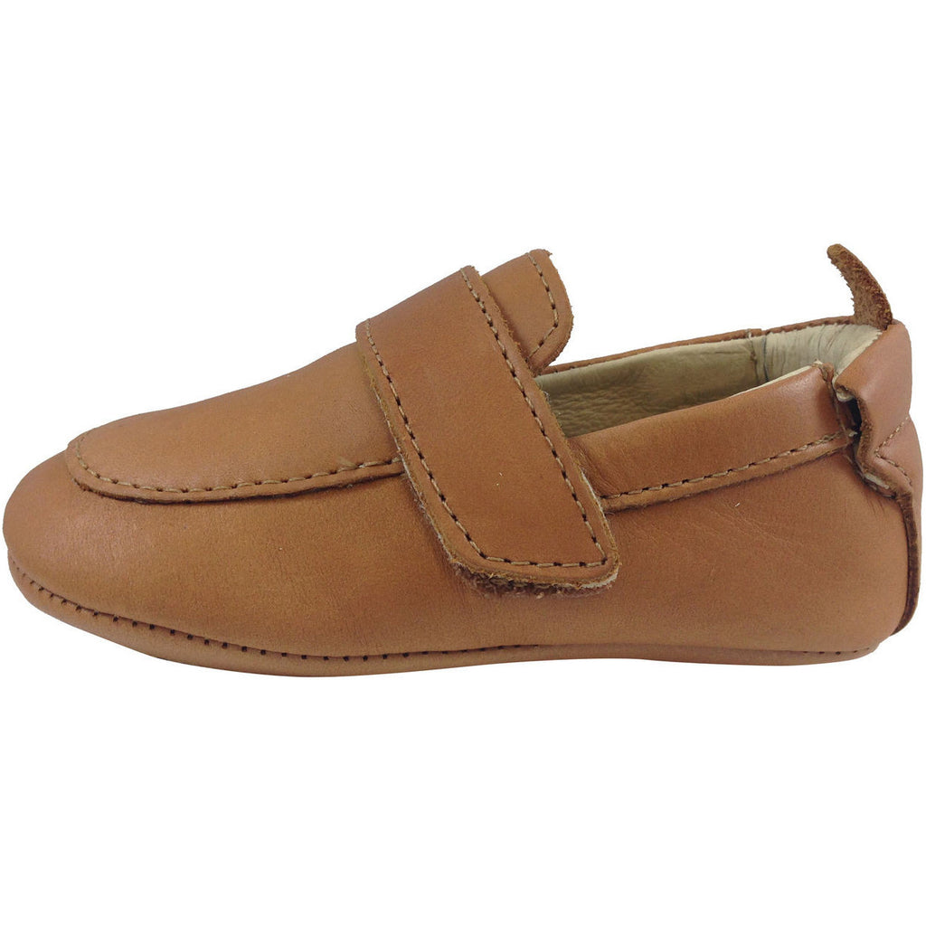 Old Soles Boy's 043 Global Tan Leather Loafer - Just Shoes for Kids  - 2