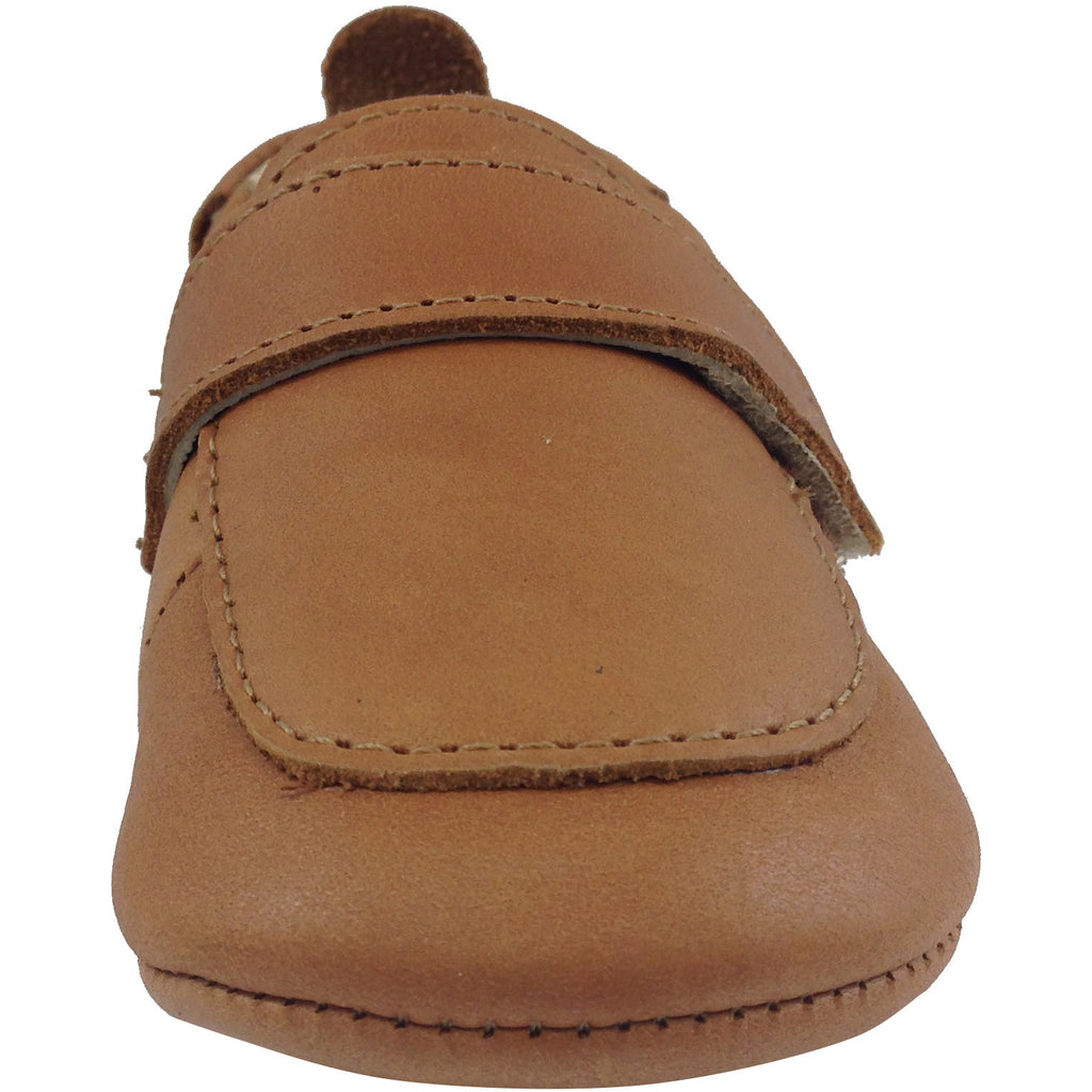 Old Soles Boy's 043 Global Tan Leather Loafer - Just Shoes for Kids  - 5