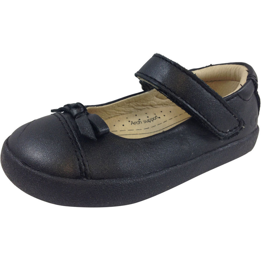 Old Soles Girl's 313 Black Sista Flat - Just Shoes for Kids  - 1