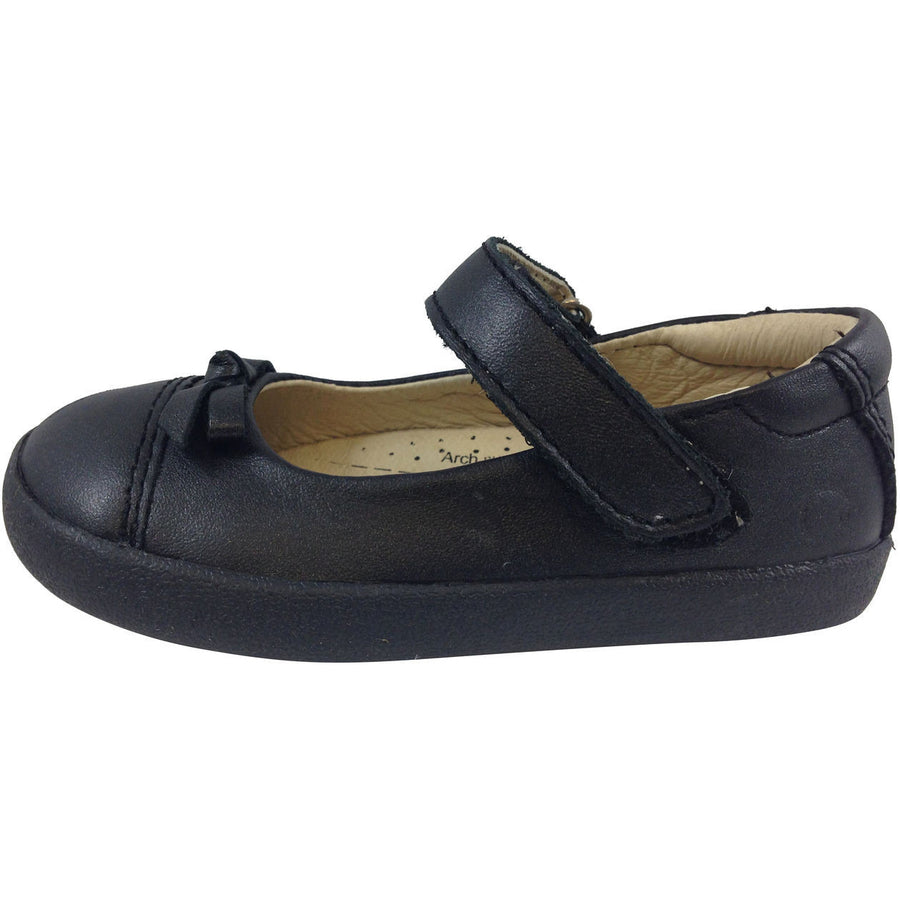 Old Soles Girl's 313 Black Sista Flat - Just Shoes for Kids  - 2