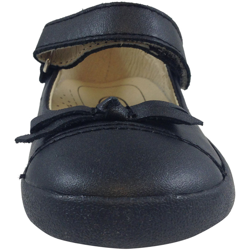 Old Soles Girl's 313 Black Sista Flat - Just Shoes for Kids  - 5