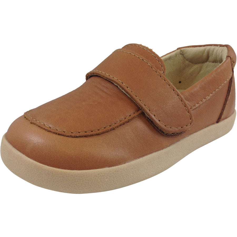 Old Soles Boy's 346 Tan Business Loafer - Just Shoes for Kids  - 1