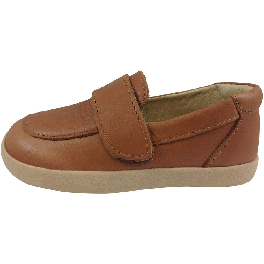 Old Soles Boy's 346 Tan Business Loafer - Just Shoes for Kids  - 2