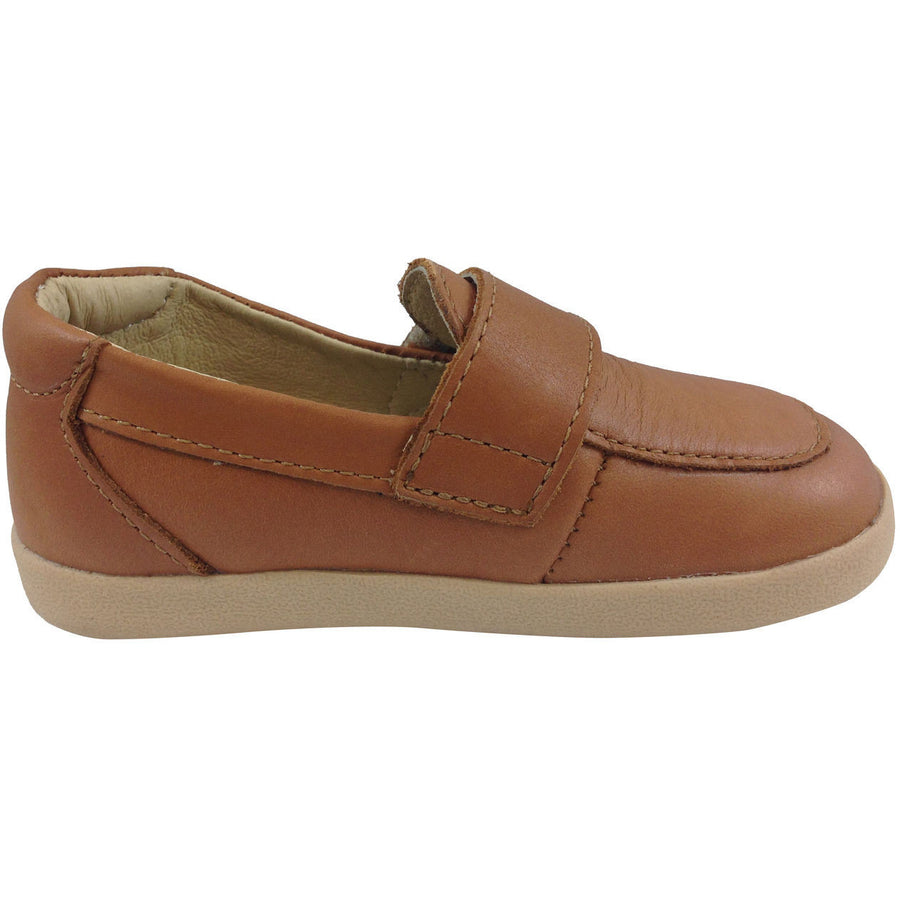Old Soles Boy's 346 Tan Business Loafer - Just Shoes for Kids  - 4