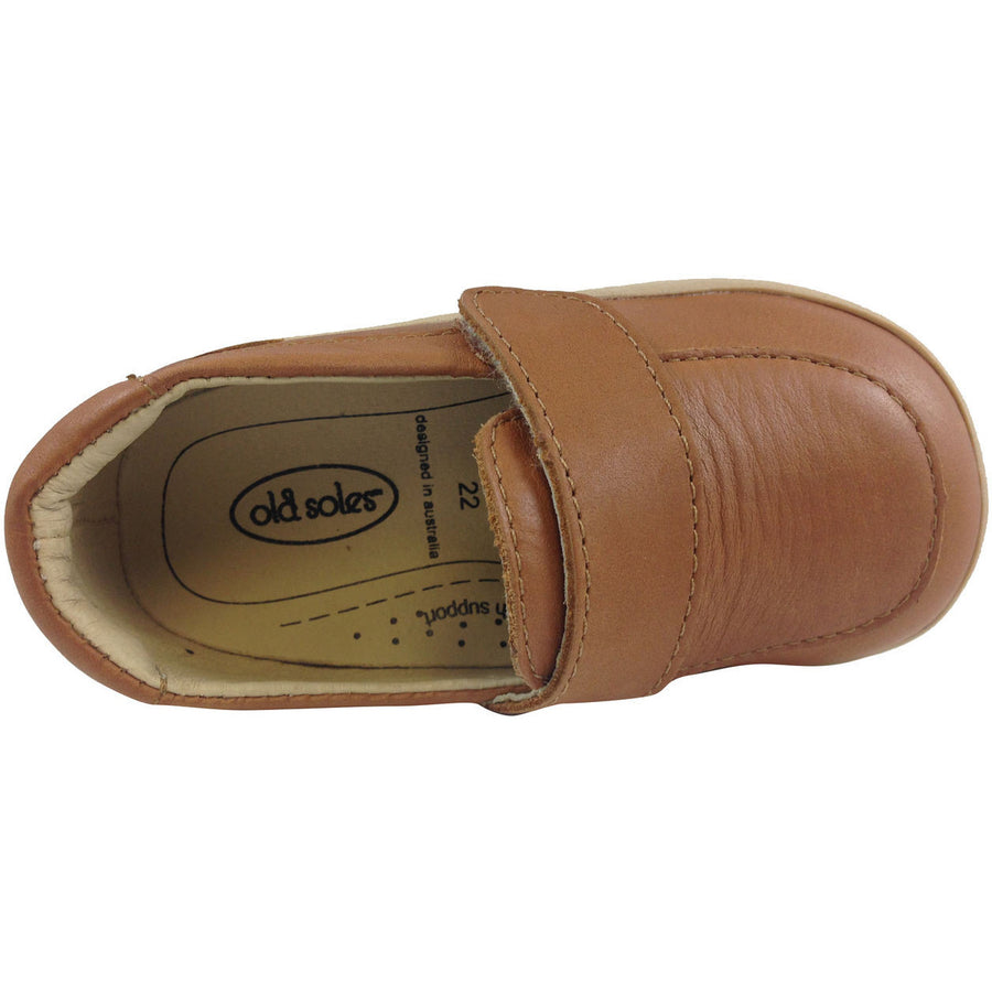 Old Soles Boy's 346 Tan Business Loafer - Just Shoes for Kids  - 6