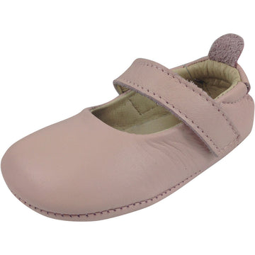 Old Soles Girl's 022 Powder Pink Leather Gabrielle Mary Jane - Just Shoes for Kids  - 1