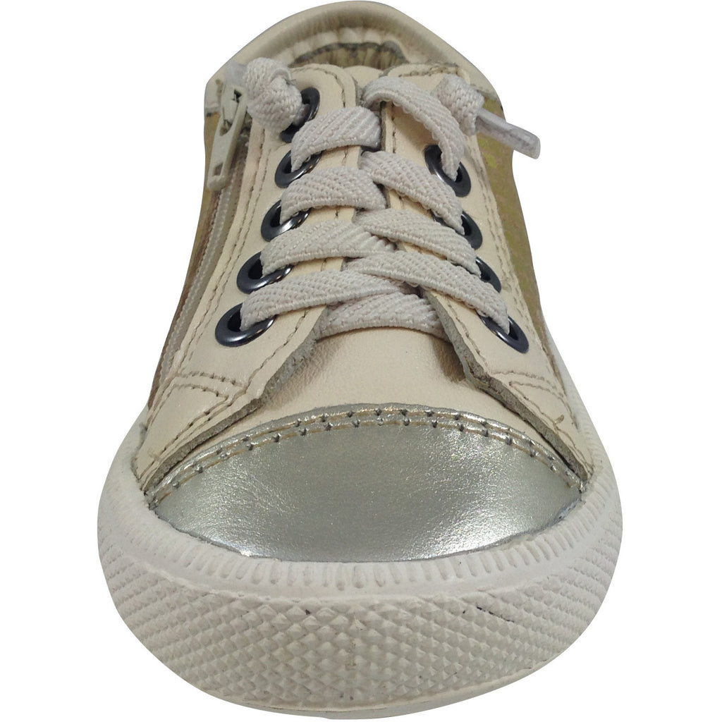 Old Soles Girl's and Boy's 1031 Gold Glam Jogger - Just Shoes for Kids  - 3