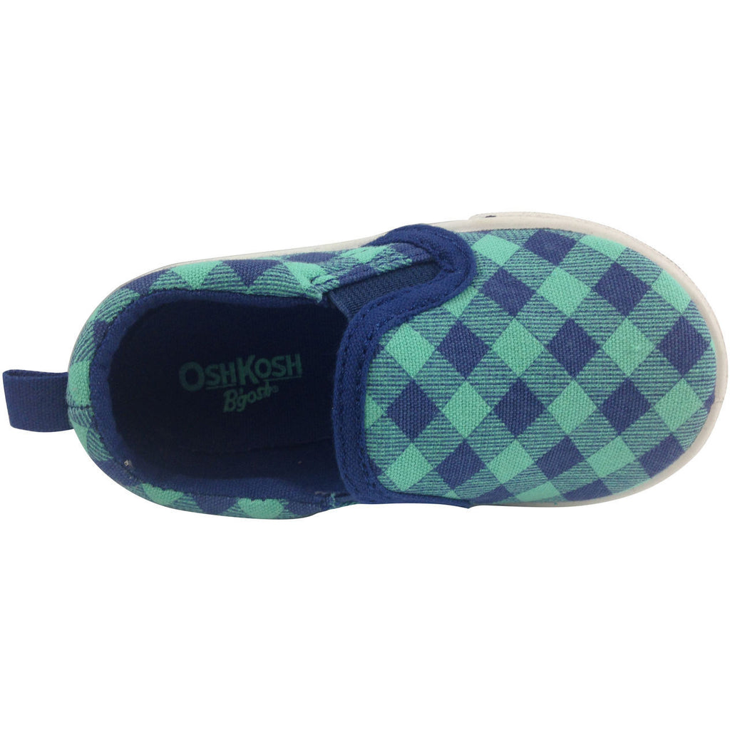 OshKosh B'Gosh Boy's and Girl's Blue & Turquoise Slip-Ons - Just Shoes for Kids  - 4