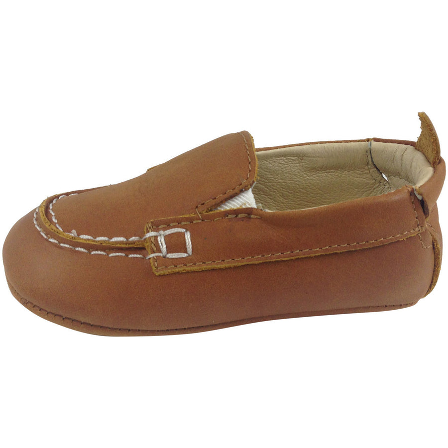 Old Soles Boy's Tan Boat Shoes - Just Shoes for Kids  - 2