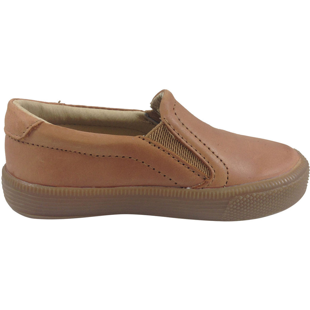 Old Soles Boy's Dress Hoff Tan Loafers - Just Shoes for Kids  - 2