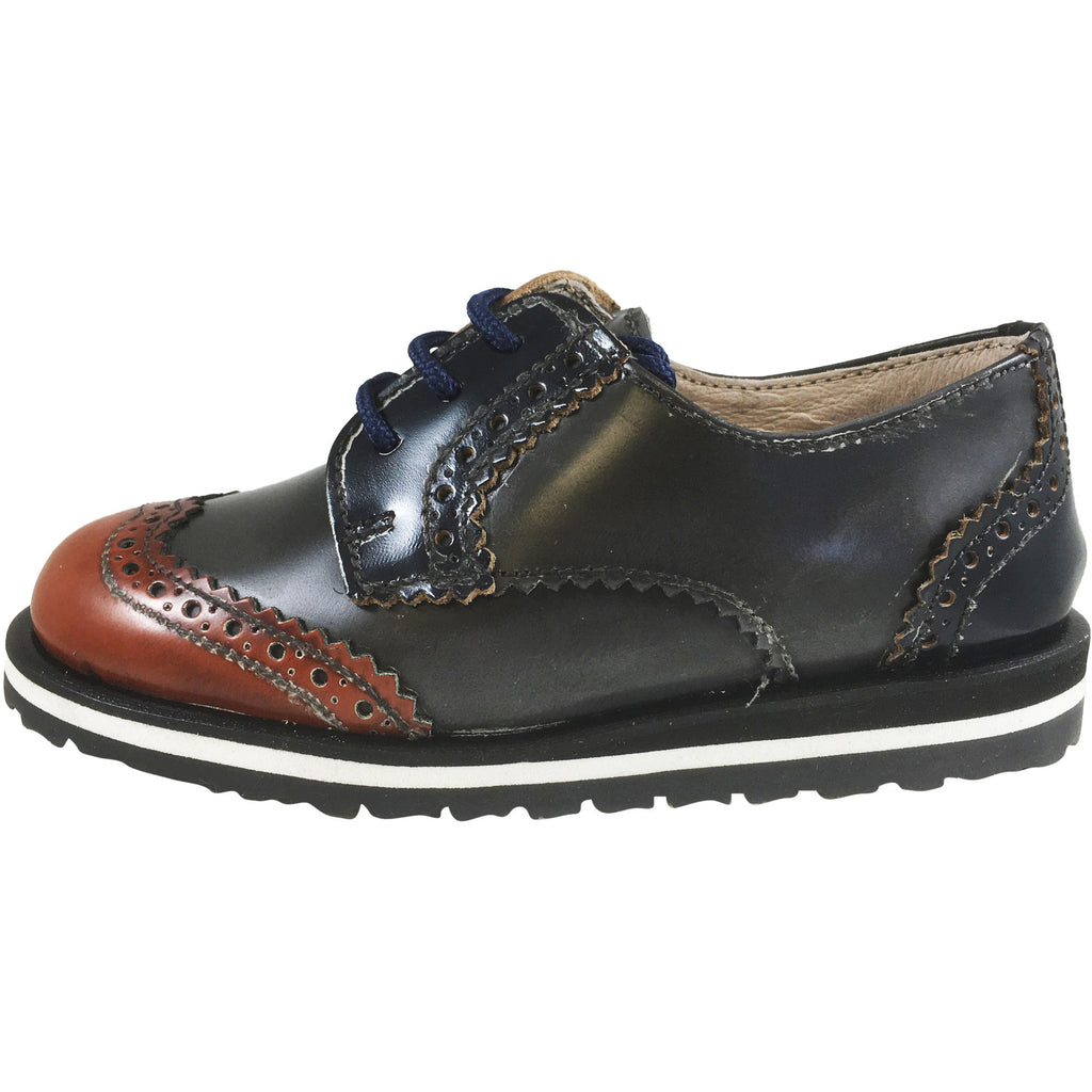 Hoo Shoes Boys and Girls Smoking Loafer CHARLIE