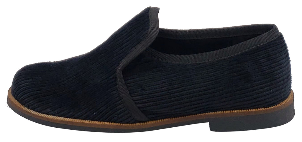 Luccini Panna Strech Soft Black Slip On for Boy's and Girl's