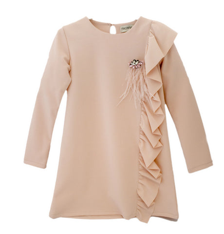 Fracomina Soft Stretch Rose Dress
