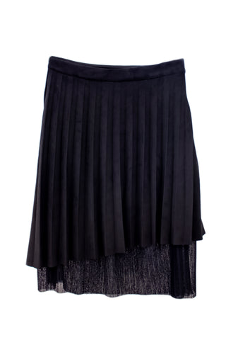 Fracomina Soft Long Black Skirt Preteen/Tween (Sizes 7 to 16)