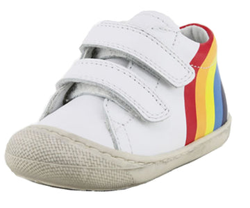 Naturino Girl's and Boy's Maty Rainbow Fashion Sneakers, Bianco (White)
