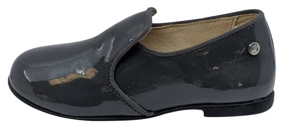 Naturino Girl's Alghero Lacca Slip On Shoes, Antracite