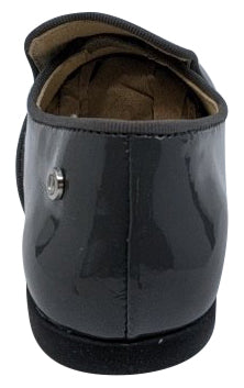 Naturino Girl's and Boy's Alghero Lacca Slip On Shoes, Antracite