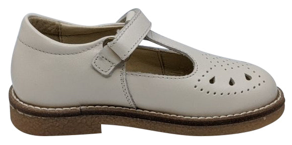 Naturino Girl's Heather Vitello Flat Shoes, Latte