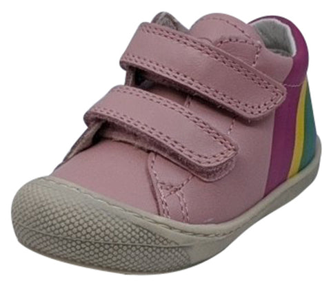 Naturino Girl's Maty Vl Vitello Fashion Sneakers, Rosa