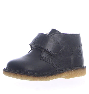 Naturino Girl's and Boy's Chukka Vit. Cerato Spazz. Boots - Nero/Antracite (Black/Charcoal Grey)